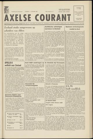 Axelsche Courant 1969-10-11