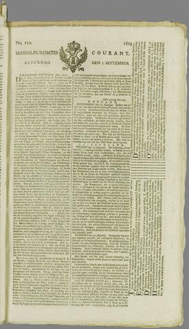 Middelburgsche Courant 1805-09-07
