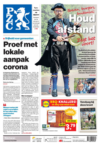 Provinciale Zeeuwse Courant 2020-07-30