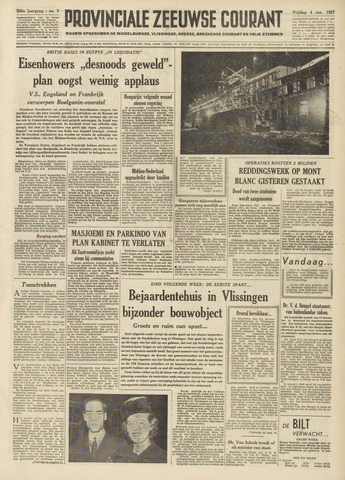 Provinciale Zeeuwse Courant 1957-01-04
