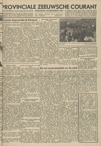 Provinciale Zeeuwse Courant 1943-12-15