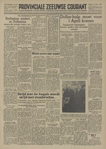 Provinciale Zeeuwse Courant 1948-02-13