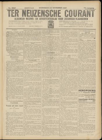 Ter Neuzensche Courant. Algemeen Nieuws- en Advertentieblad voor Zeeuwsch-Vlaanderen / Neuzensche Courant ... (idem) / (Algemeen) nieuws en advertentieblad voor Zeeuwsch-Vlaanderen 1937-11-24