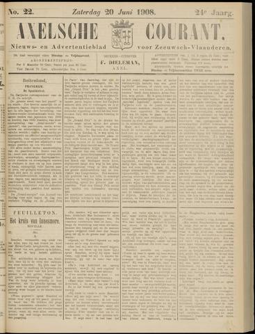 Axelsche Courant 1908-06-20