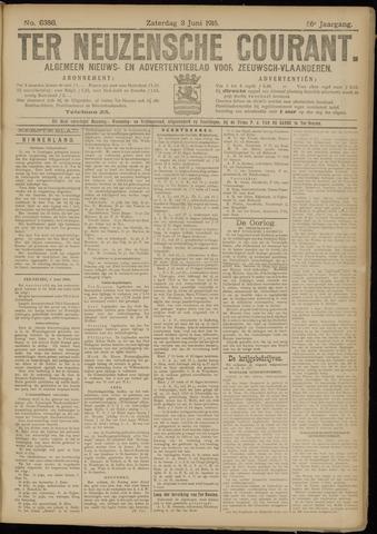 Ter Neuzensche Courant. Algemeen Nieuws- en Advertentieblad voor Zeeuwsch-Vlaanderen / Neuzensche Courant ... (idem) / (Algemeen) nieuws en advertentieblad voor Zeeuwsch-Vlaanderen 1916-06-03