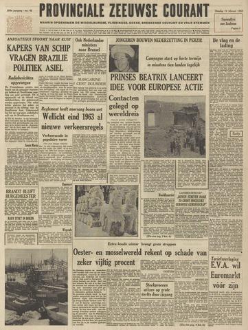 Provinciale Zeeuwse Courant 1963-02-19