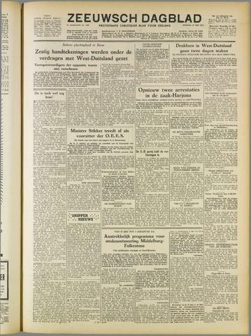 Zeeuwsch Dagblad 1952-05-27