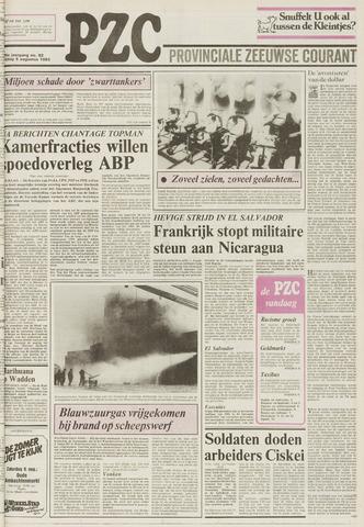 Provinciale Zeeuwse Courant 1983-08-05