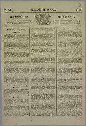 Goessche Courant 1845-10-27