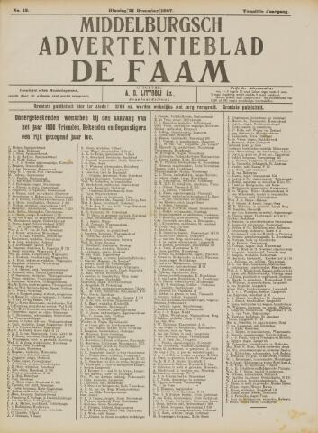 de Faam en de Faam/de Vlissinger 1907-12-31