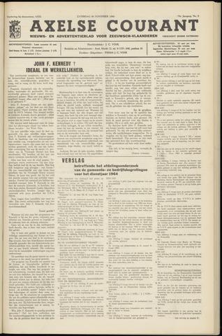 Axelsche Courant 1963-11-30