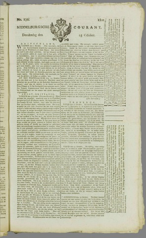 Middelburgsche Courant 1810-10-25