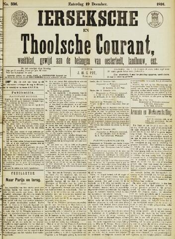 Ierseksche en Thoolsche Courant 1891-12-19