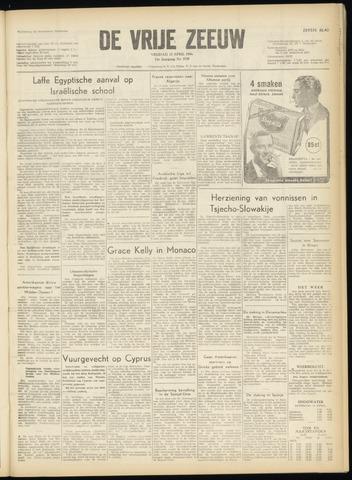 de Vrije Zeeuw 1956-04-13