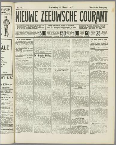 Nieuwe Zeeuwsche Courant 1917-03-29