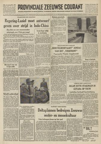 Provinciale Zeeuwse Courant 1953-10-23