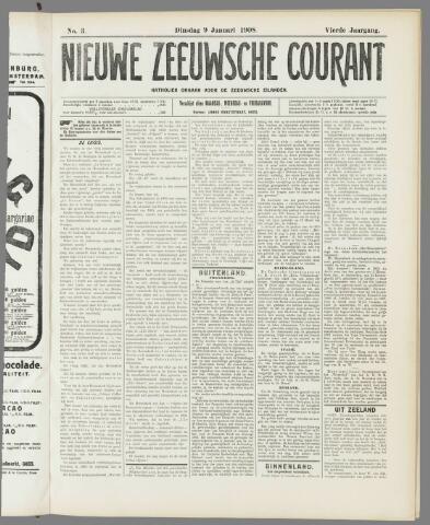 Nieuwe Zeeuwsche Courant 1908-01-09