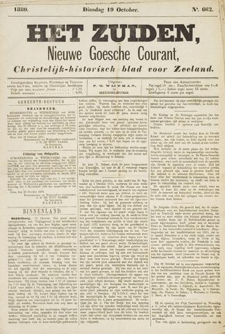 Het Zuiden, Christelijk-historisch blad 1880-10-19