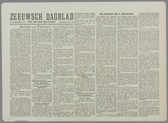Zeeuwsch Dagblad 1945-06-11