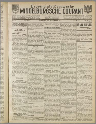 Middelburgsche Courant 1930-12-23