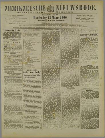 Zierikzeesche Nieuwsbode 1906-03-22