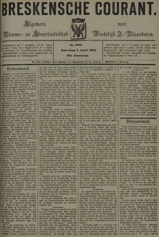 Breskensche Courant 1913-04-05