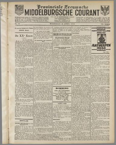 Middelburgsche Courant 1930-04-16