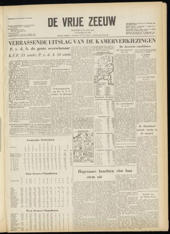 de Vrije Zeeuw 1956-06-14
