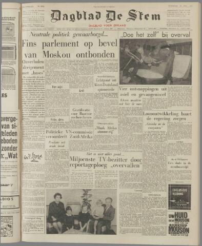 de Stem 1961-11-15