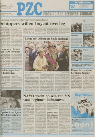 Provinciale Zeeuwse Courant 1993-08-10