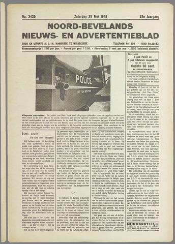 Noord-Bevelands Nieuws- en advertentieblad 1949-05-28