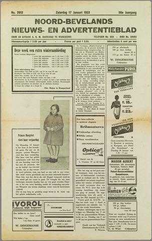 Noord-Bevelands Nieuws- en advertentieblad 1953-01-17