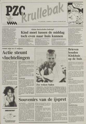 Provinciale Zeeuwse Courant katern Krullenbak (1981-1999) 1991-02-19