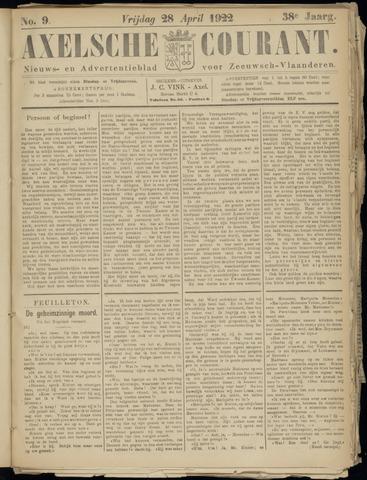 Axelsche Courant 1922-04-28