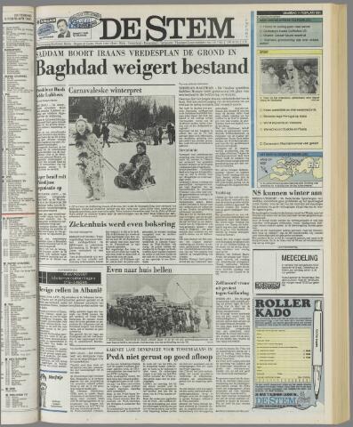 de Stem 1991-02-11