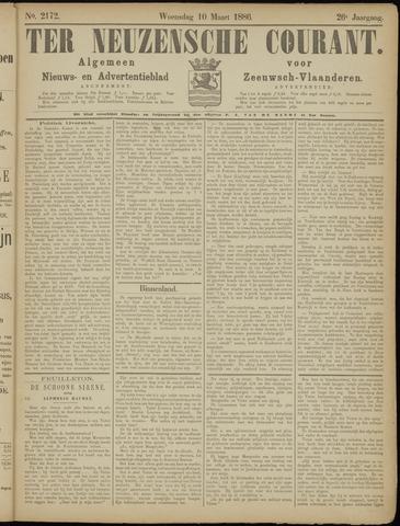 Ter Neuzensche Courant. Algemeen Nieuws- en Advertentieblad voor Zeeuwsch-Vlaanderen / Neuzensche Courant ... (idem) / (Algemeen) nieuws en advertentieblad voor Zeeuwsch-Vlaanderen 1886-03-10
