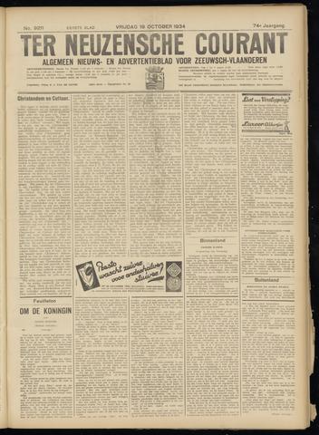 Ter Neuzensche Courant. Algemeen Nieuws- en Advertentieblad voor Zeeuwsch-Vlaanderen / Neuzensche Courant ... (idem) / (Algemeen) nieuws en advertentieblad voor Zeeuwsch-Vlaanderen 1934-10-19