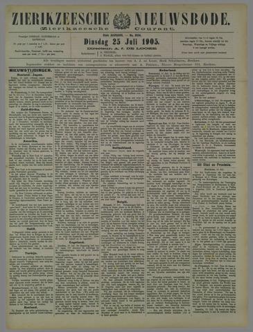 Zierikzeesche Nieuwsbode 1905-07-25
