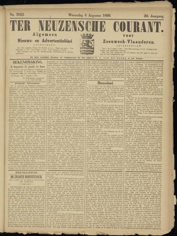 Ter Neuzensche Courant. Algemeen Nieuws- en Advertentieblad voor Zeeuwsch-Vlaanderen / Neuzensche Courant ... (idem) / (Algemeen) nieuws en advertentieblad voor Zeeuwsch-Vlaanderen 1890-08-06
