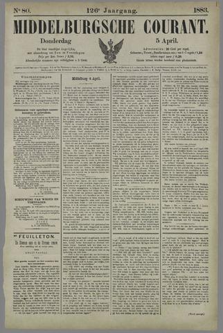 Middelburgsche Courant 1883-04-05