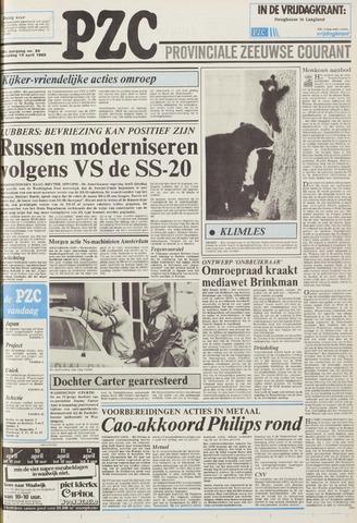 Provinciale Zeeuwse Courant 1985-04-10