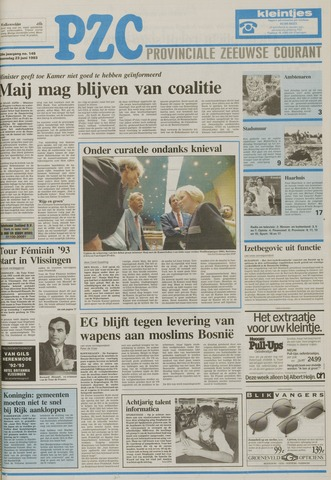 Provinciale Zeeuwse Courant 1993-06-23