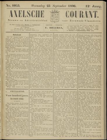 Axelsche Courant 1896-09-23