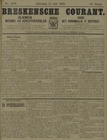 Breskensche Courant 1905-07-15