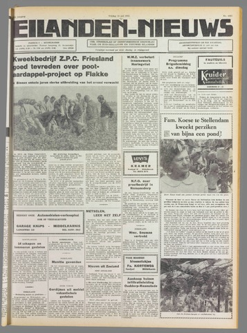 Eilanden-nieuws. Christelijk streekblad op gereformeerde grondslag 1975-07-18