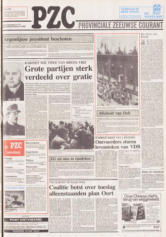 Provinciale Zeeuwse Courant 1989-01-25
