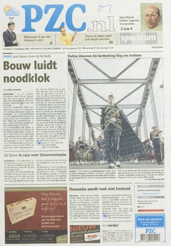 Provinciale Zeeuwse Courant 2009-09-19