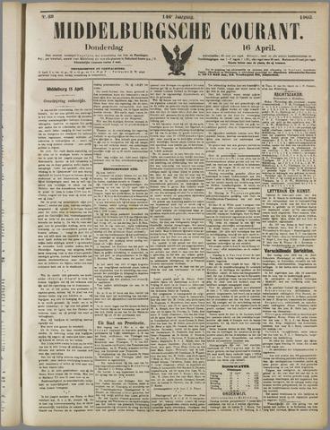 Middelburgsche Courant 1903-04-16