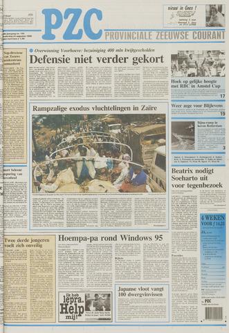Provinciale Zeeuwse Courant 1995-08-24