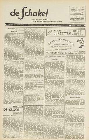 De Schakel 1963-09-27